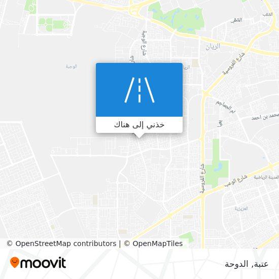 خريطة عتبة