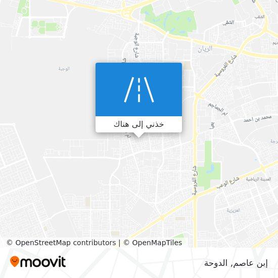 خريطة إبن عاصم