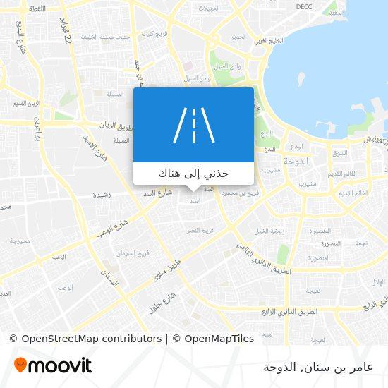 خريطة عامر بن سنان