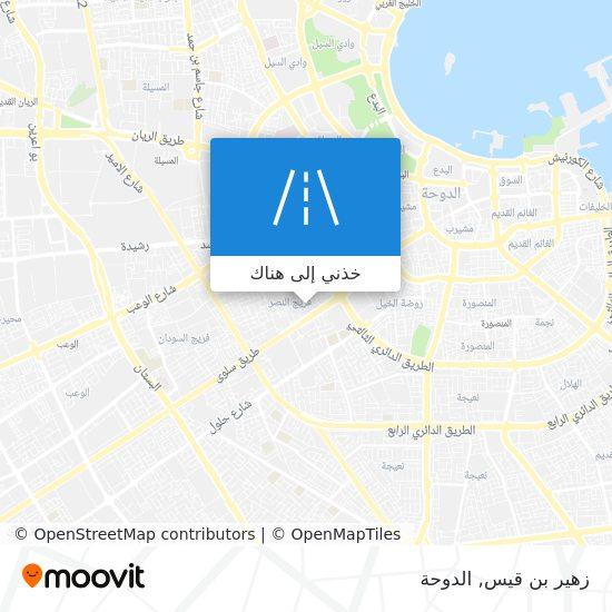 خريطة زهير بن قيس