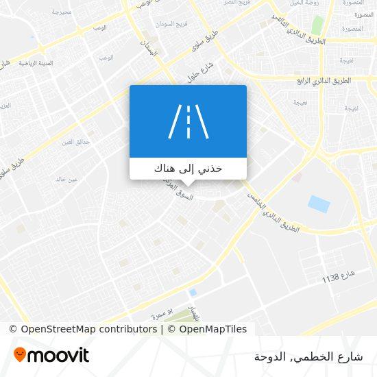 خريطة شارع الخطمي