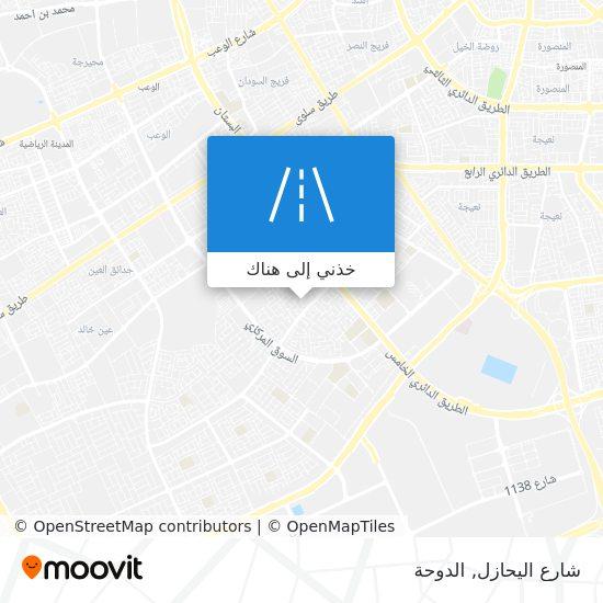 خريطة شارع اليحازل
