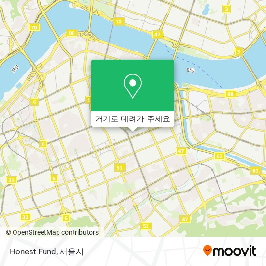 Honest Fund 지도