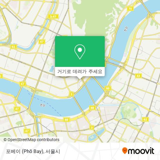 포베이 (Phõ Bay) 지도