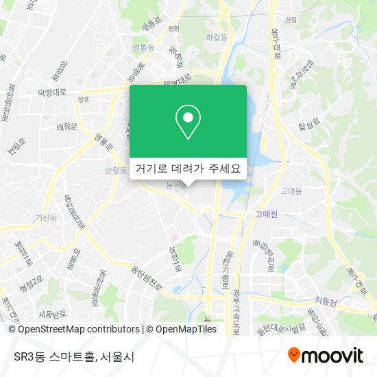 SR3동 스마트홀 지도