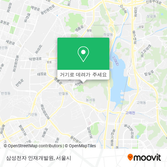 삼성전자 인재개발원 지도