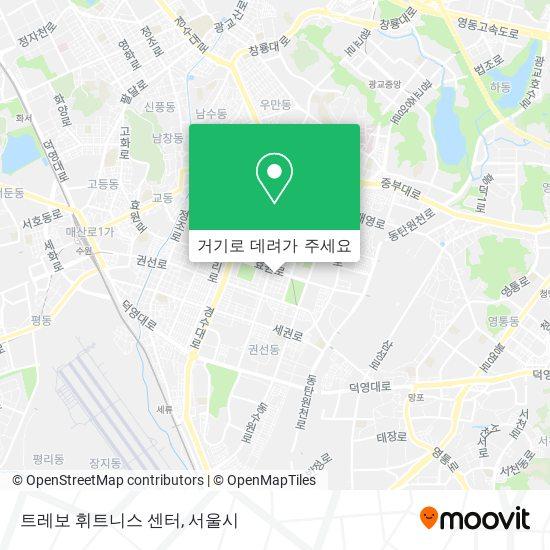 트레보 휘트니스 센터 지도