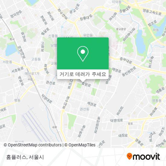 홈플러스 지도