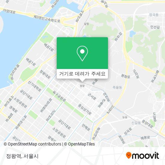 정왕역 지도
