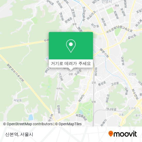 산본역 지도