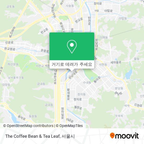 The Coffee Bean & Tea Leaf 지도