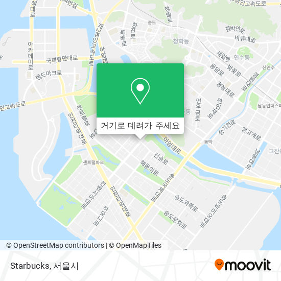 Starbucks 지도