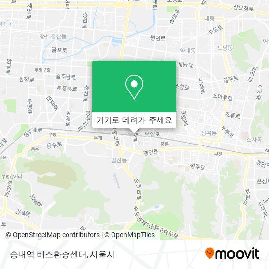 송내역 버스환승센터 지도