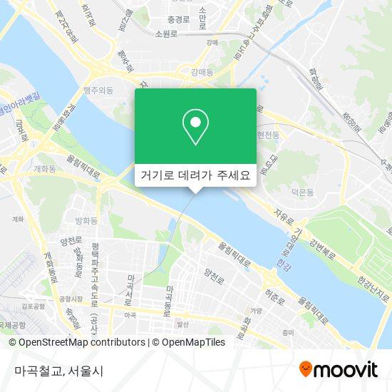 마곡철교 지도