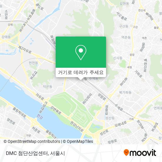 DMC 첨단산업센터 지도