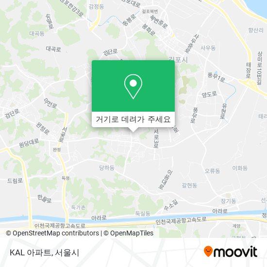 KAL 아파트 지도
