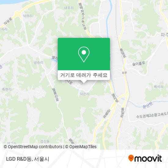 LGD R&D동 지도
