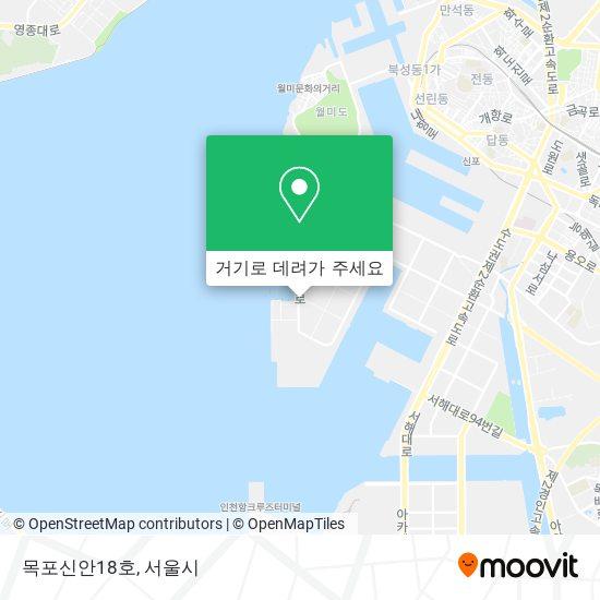 목포신안18호 지도