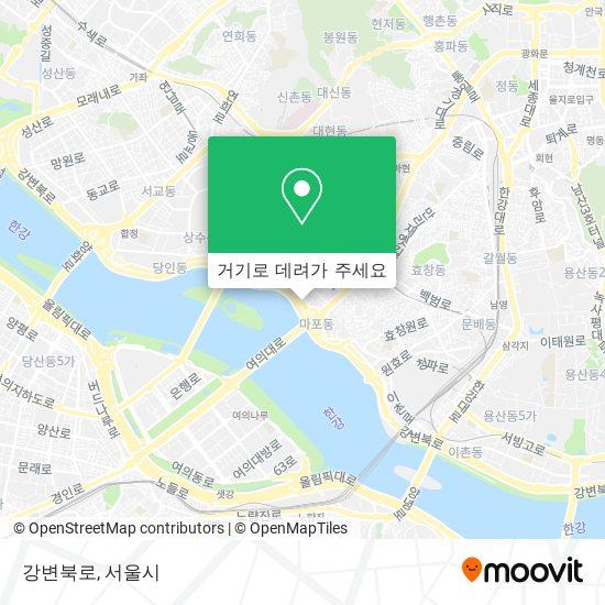 강변북로 지도