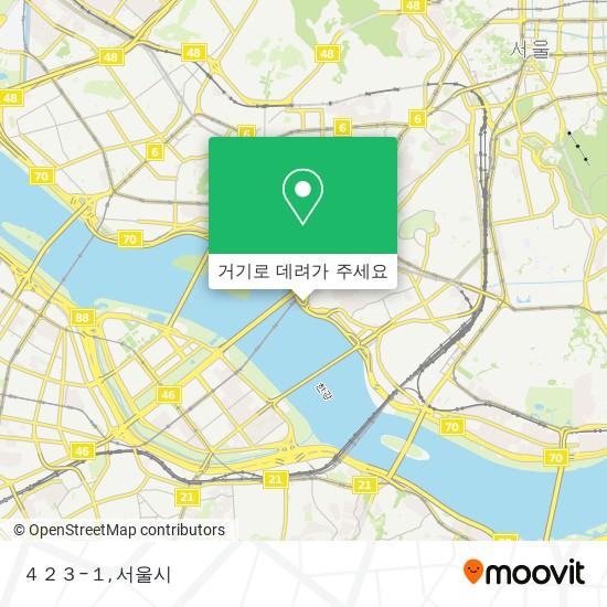 423−1 지도