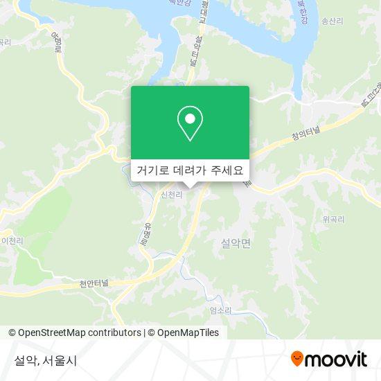 설악 (Seolak) 지도