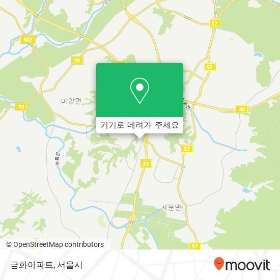 금화아파트 지도