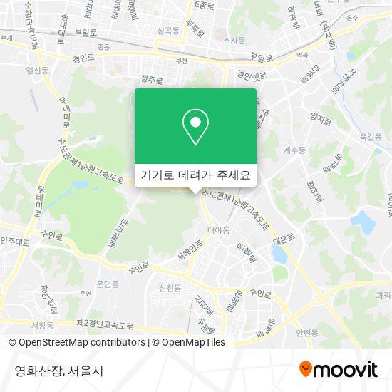 영화산장 (Yeonghwa Mountain Villa) 지도