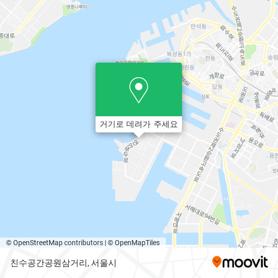 친수공간공원삼거리 (Chinsugonggangongwonsamgeori) 지도