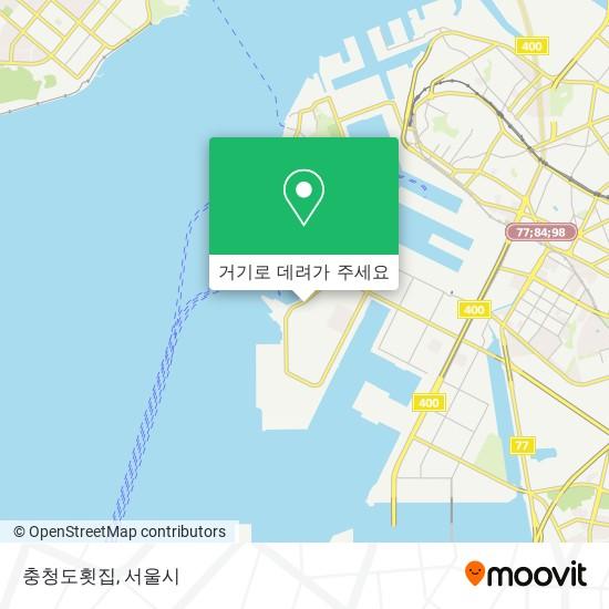 충청도횟집 (Chungcheongdo Fish Restaurant) 지도