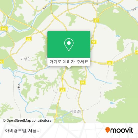 아비숑모텔 (Abisyong Motel) 지도