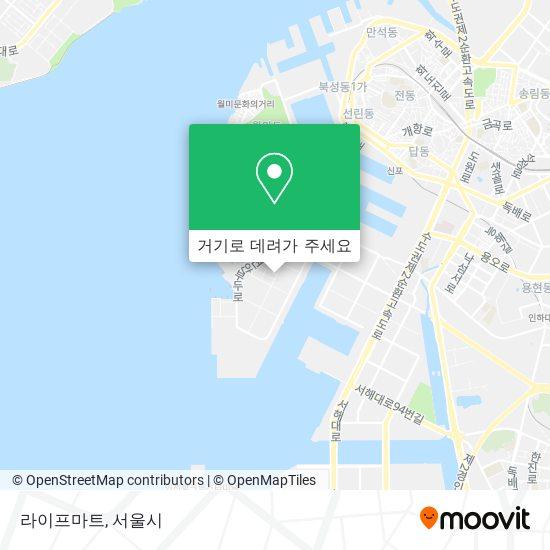 라이프마트 (Raipeu Mart) 지도