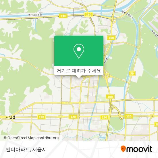 팬더아파트 지도
