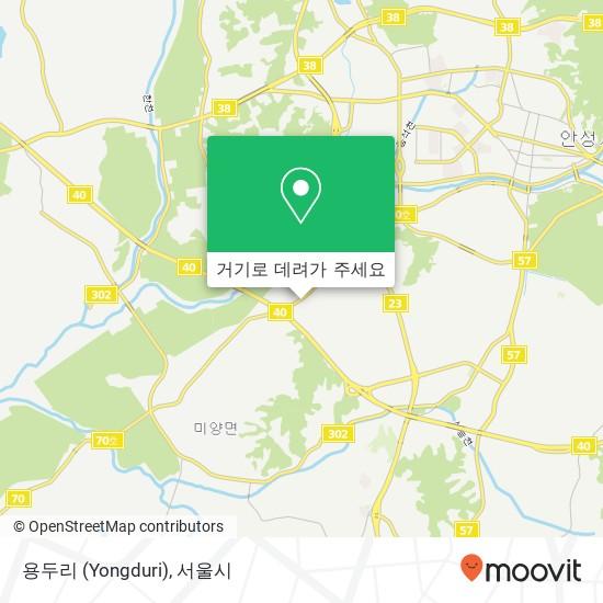 용두리 (Yongduri) 지도