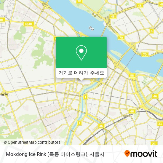 Mokdong Ice Rink (목동 아이스링크) 지도