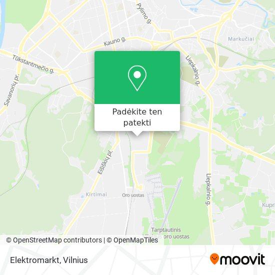 Elektromarkt žemėlapis
