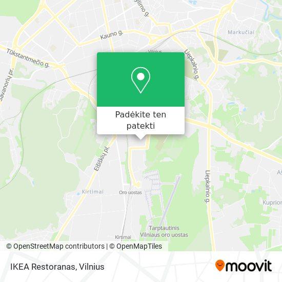 IKEA Restoranas žemėlapis