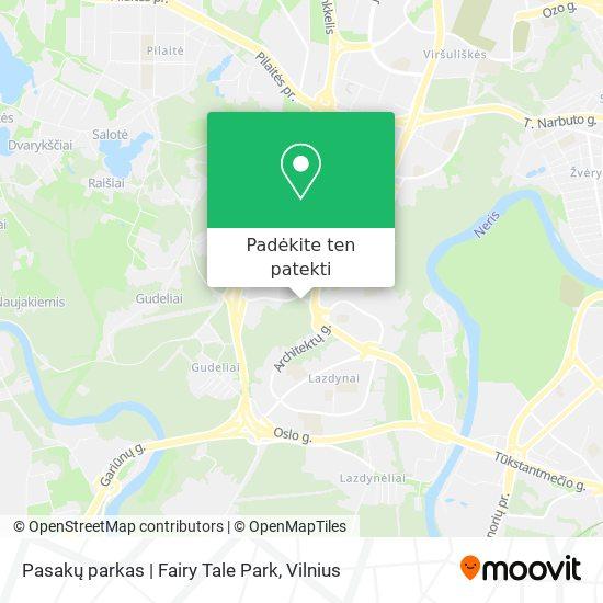 Pasakų parkas | Fairy Tale Park žemėlapis