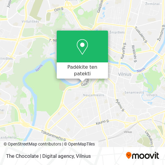 The Chocolate | Digital agency žemėlapis