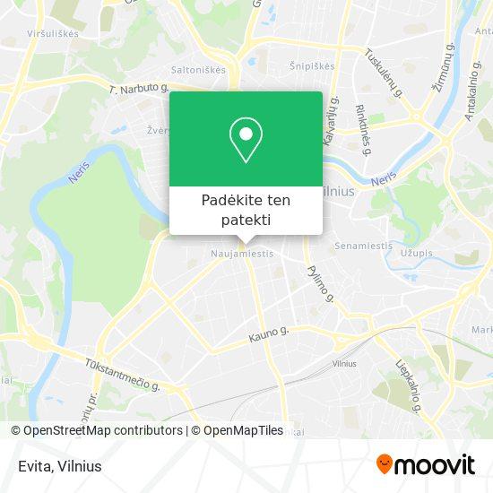 Evita žemėlapis