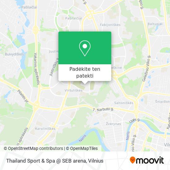 Thailand Sport & Spa @ SEB arena žemėlapis