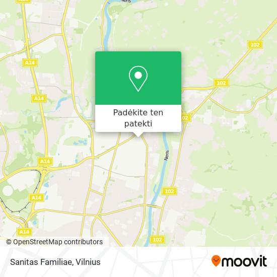 Sanitas Familiae žemėlapis