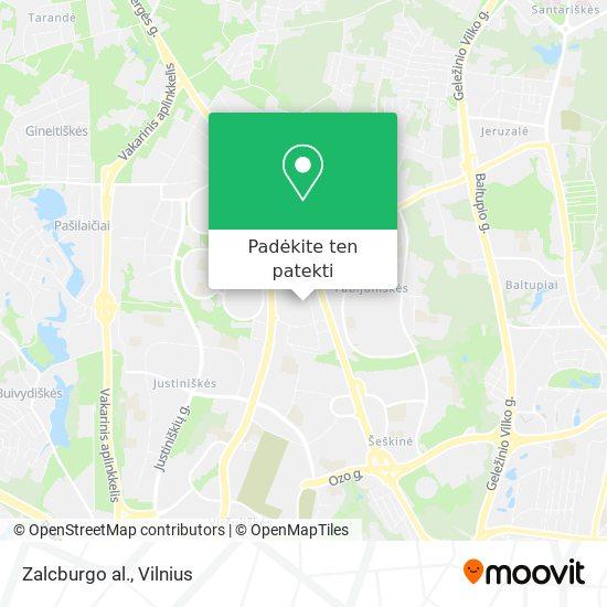 Zalcburgo al. žemėlapis