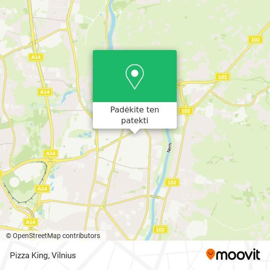 Pizza King žemėlapis