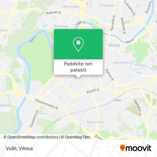 Vollit žemėlapis