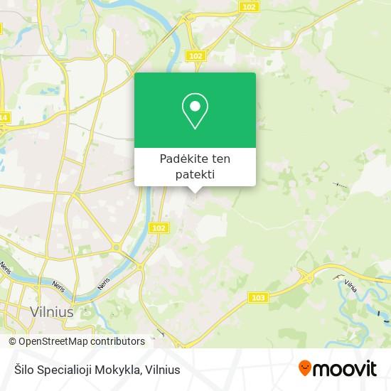 Šilo Specialioji Mokykla žemėlapis