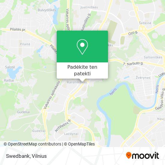 Swedbank žemėlapis