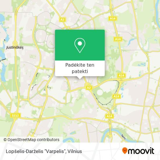 "Lopšelis-Darželis ""Varpelis"" žemėlapis"