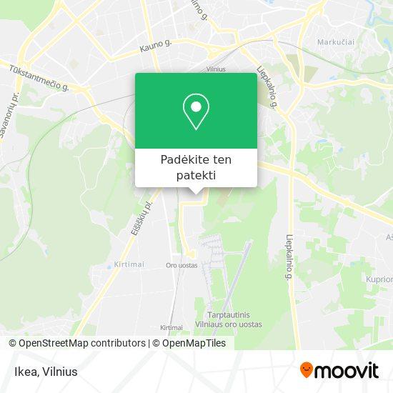 Ikea žemėlapis