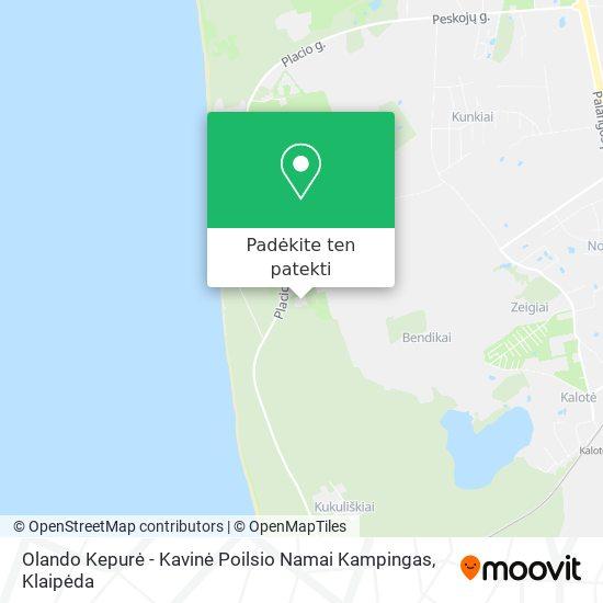 Olando Kepurė - Kavinė Poilsio Namai Kampingas žemėlapis