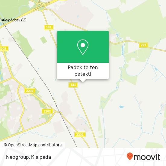 Neogroup žemėlapis